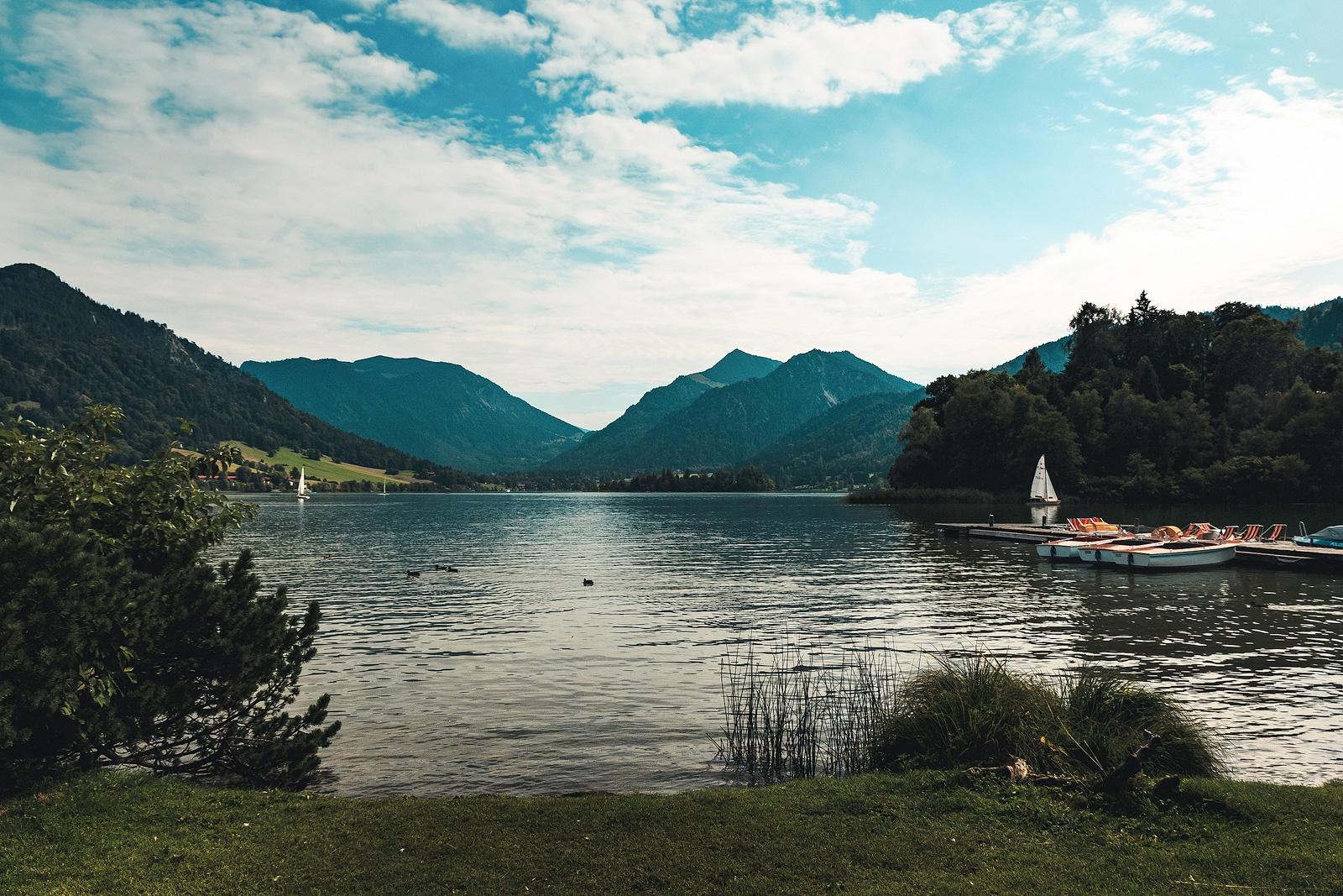 Wieder zurück an der Seepromenade in Schliersee.