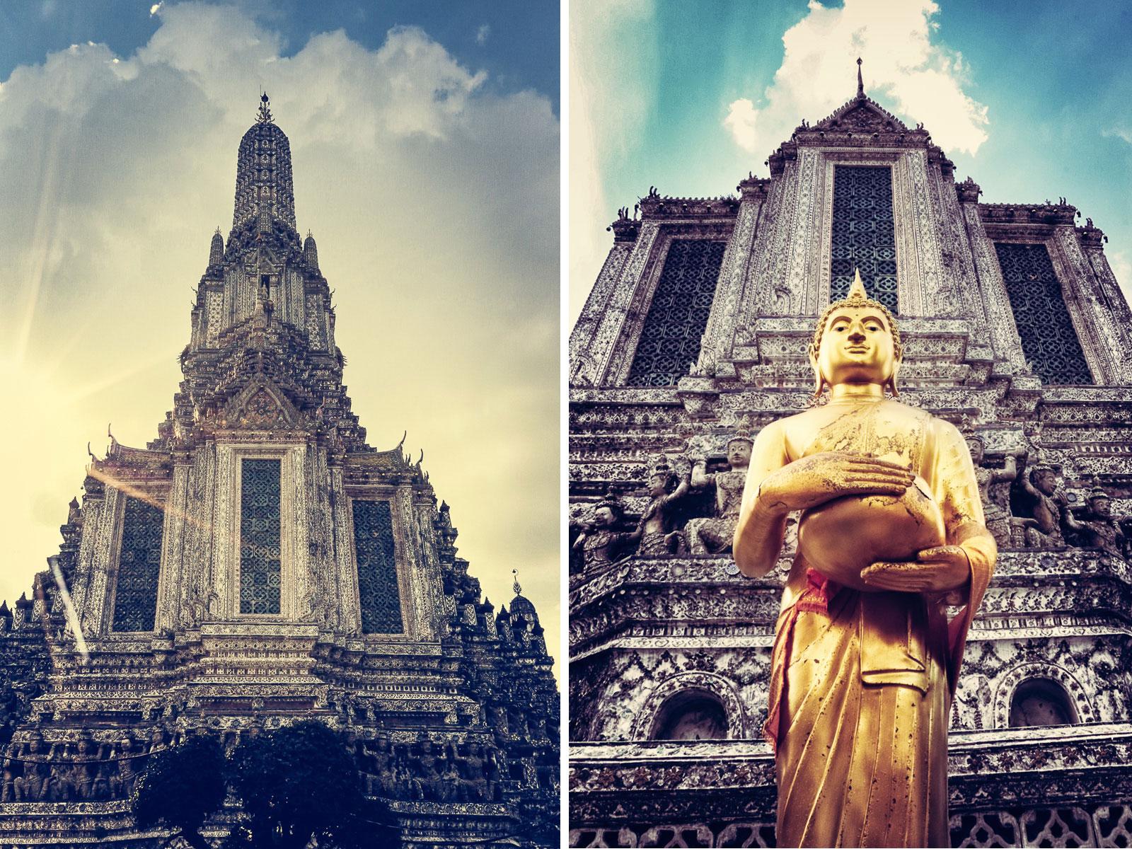 Ein absolut beeindruckendes Bauwerk: der Wat Arun in Bangkok.
