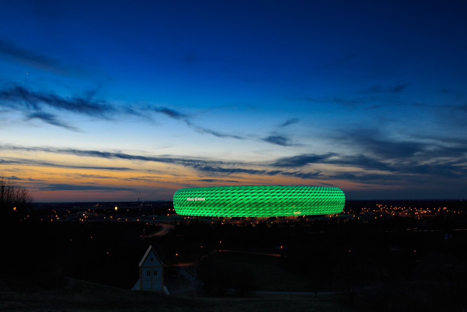 Highlight im März: das Greening zum St. Patrick's Day.