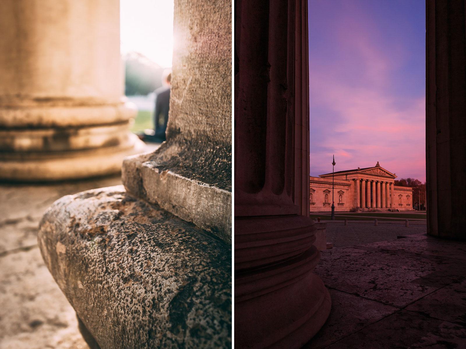 Eine wahre Spielwiese für Fotografen: der Königsplatz