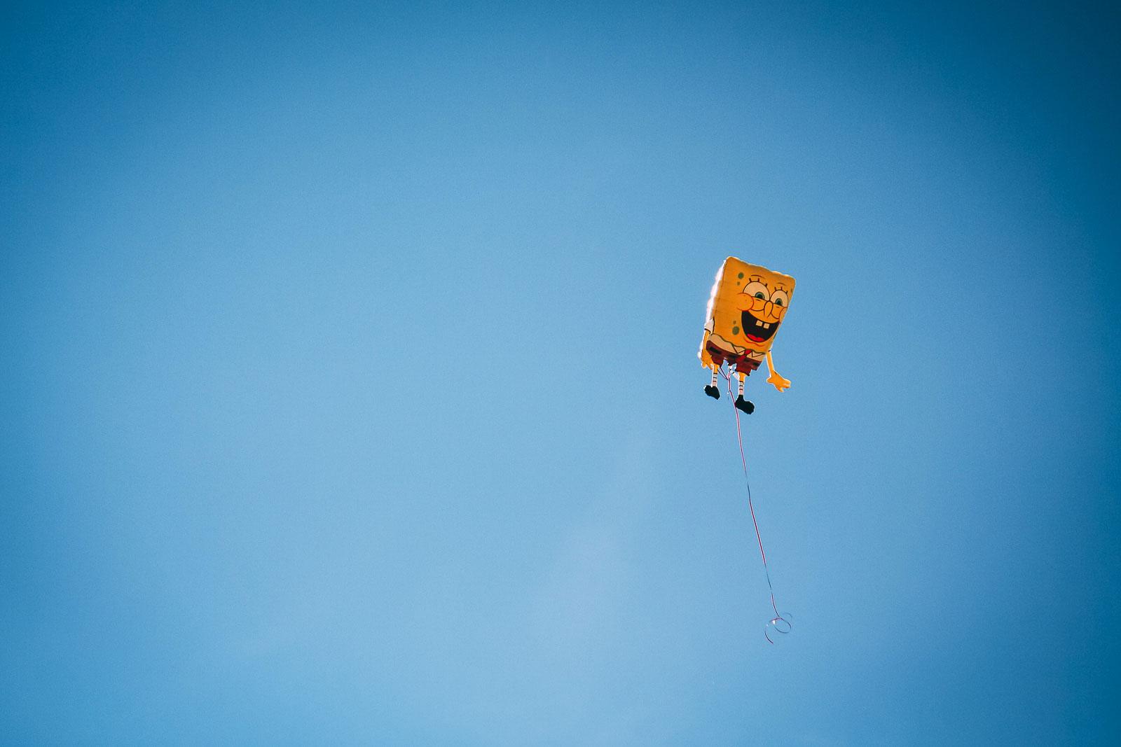 Oh nein! Der arme SpongeBob! ... Guten Flug!