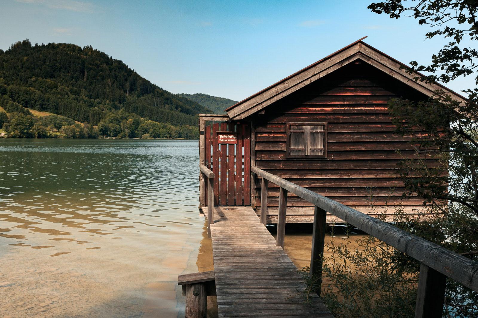 Ach, so ein Bootshaus hätte ich auch gerne :-)