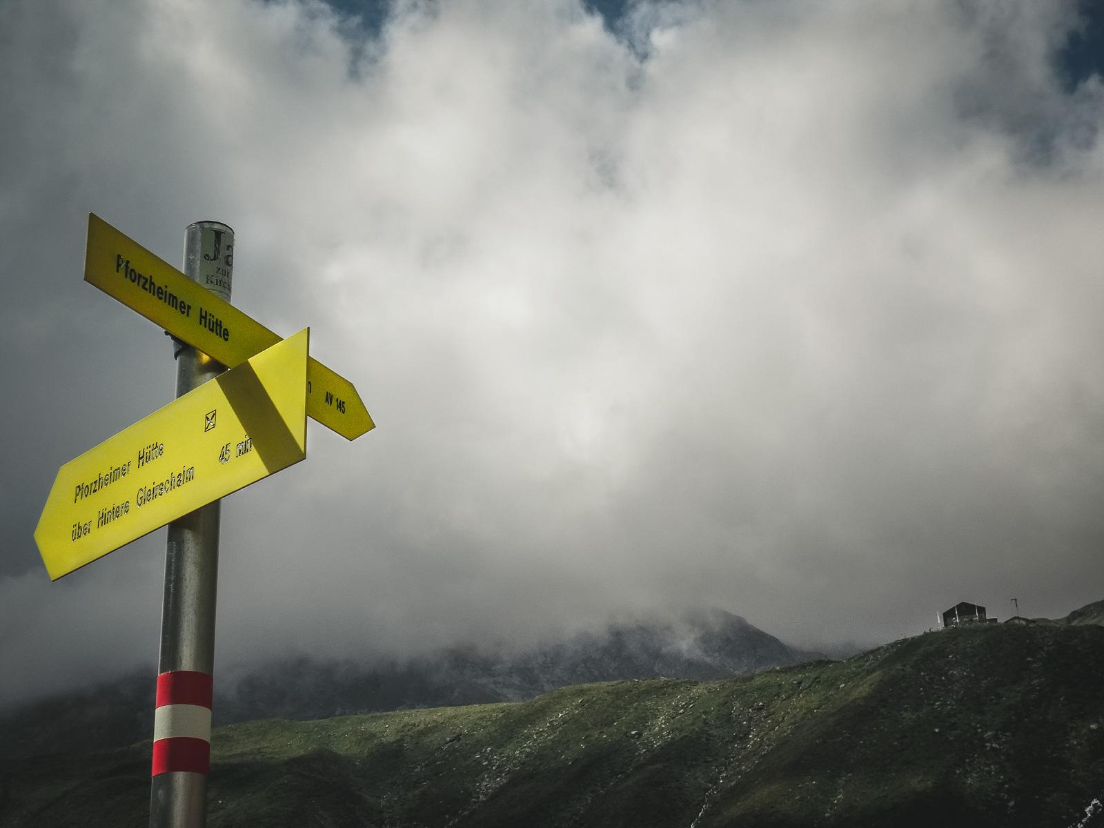 """Unbedingt den Weg über die """"HIntere Gleirschalm"""" nehmen ... wunderschön!"""