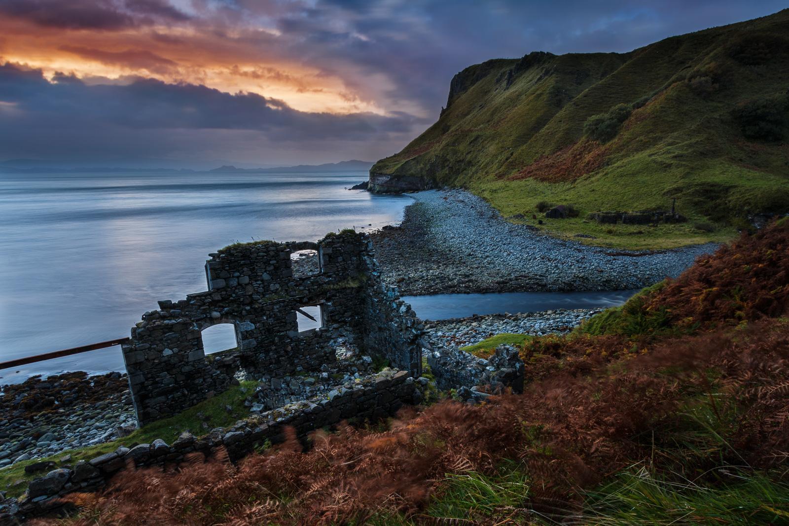 Ruine, Sonnenaufgang ... hier kann man sich fotografisch richtig austoben.