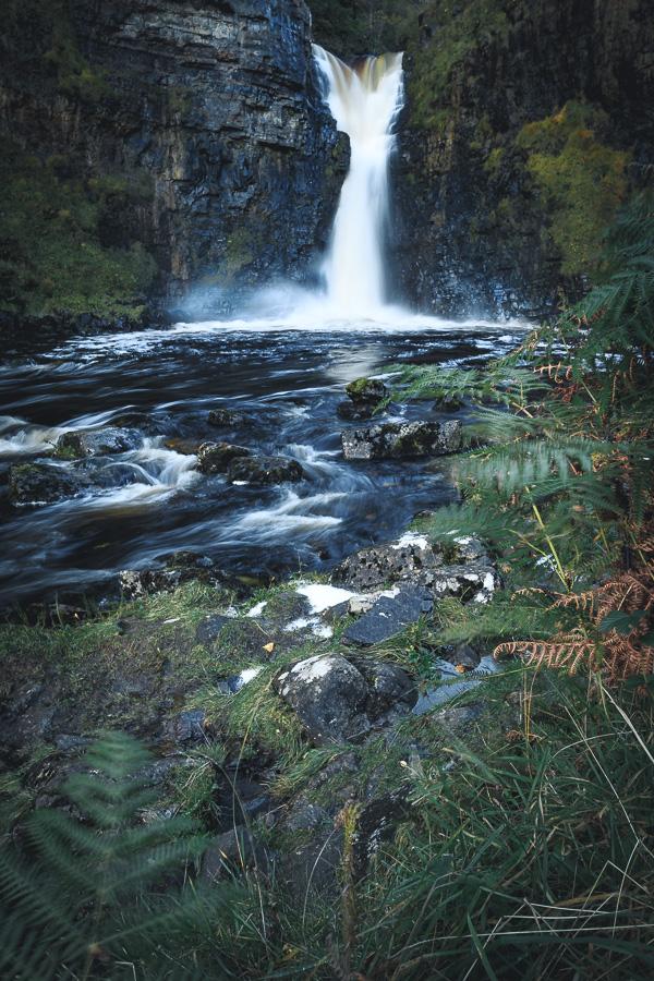 Bevor die Sonne den Wasserfall anstrahlt lassen sich hier tolle Fotos schießen.