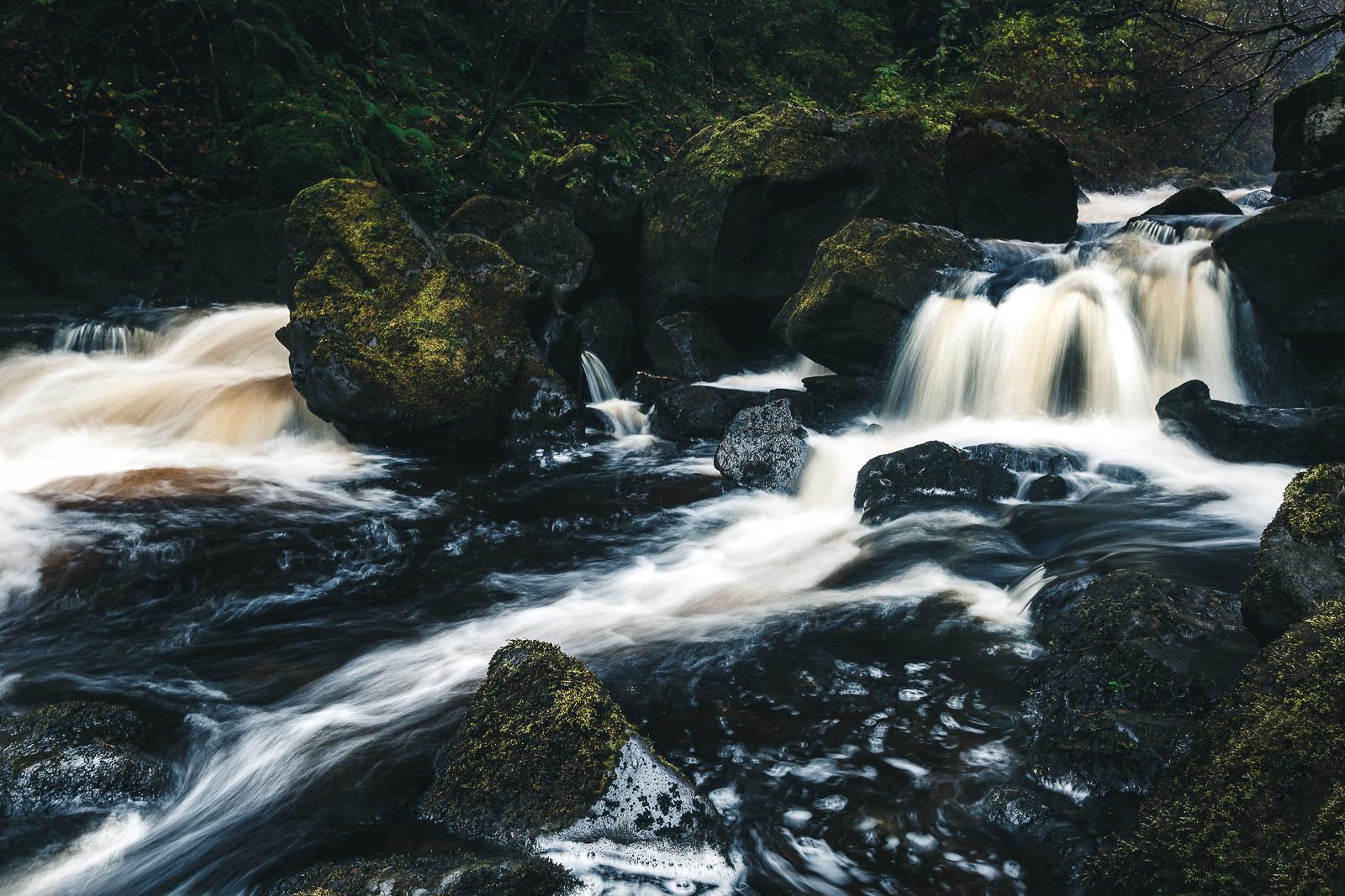 Rha Waterfall auf der Isle of Skye