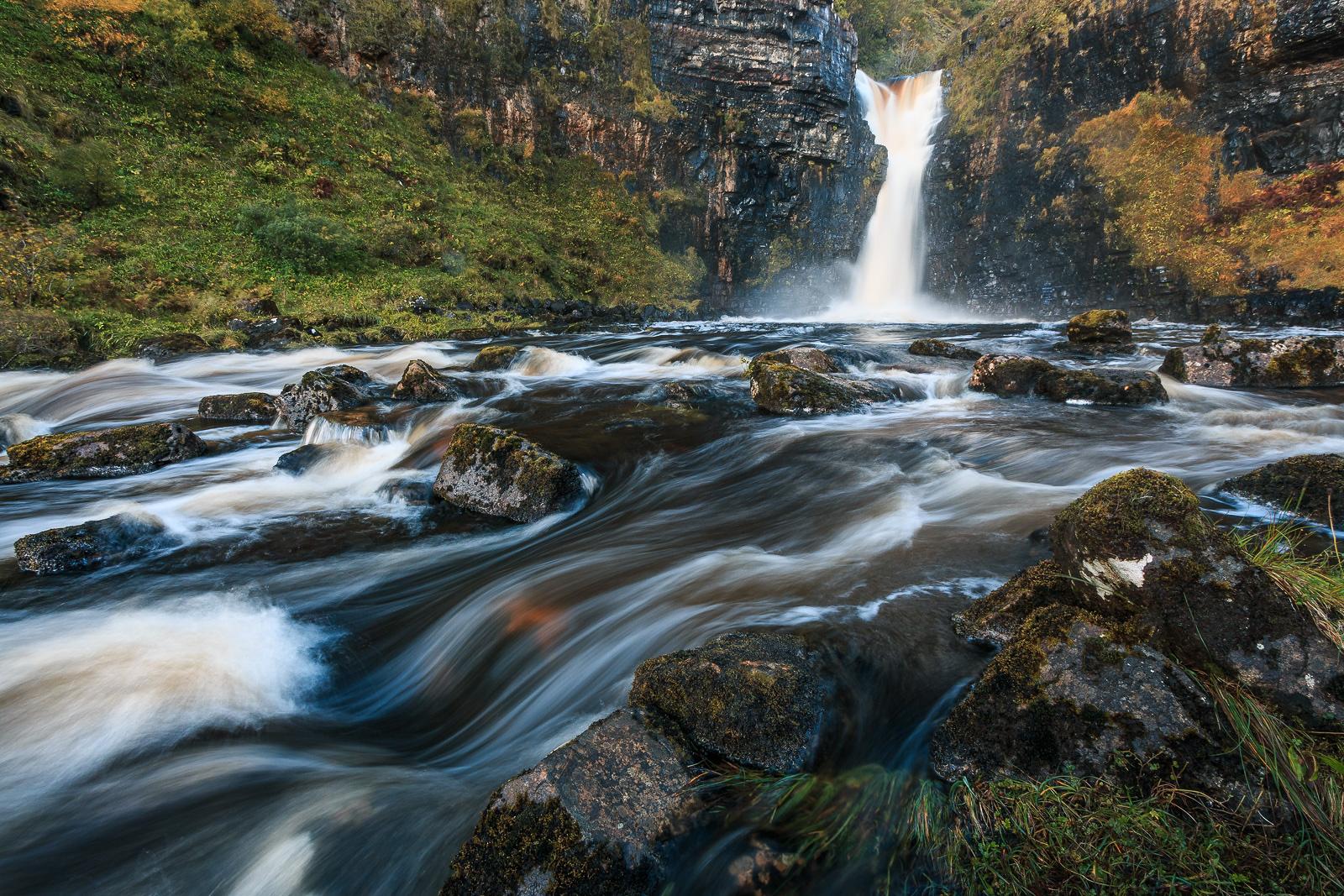 Endlich mal Wasserfälle fotografieren – ich liebe es!