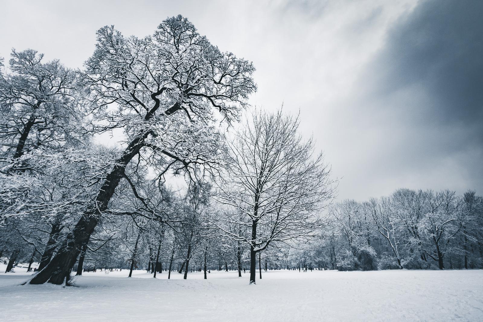 Winterwonderland mitten in der Stadt