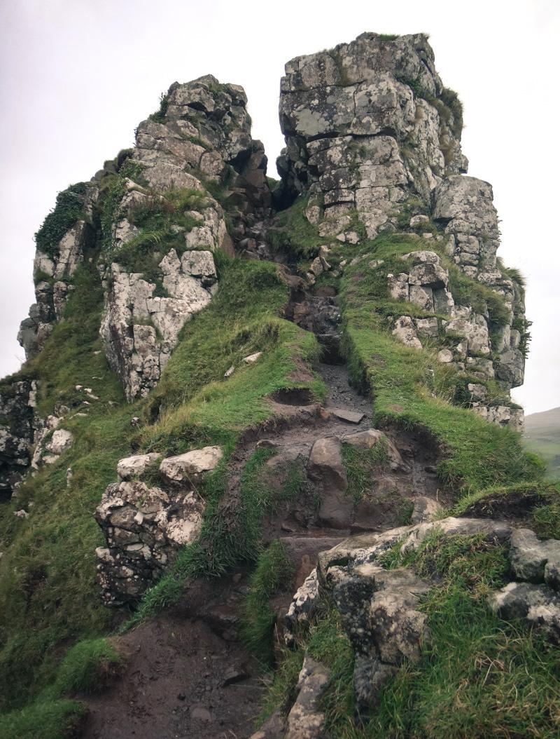 Selbst ein Fels sieht hier hübsch aus :-)