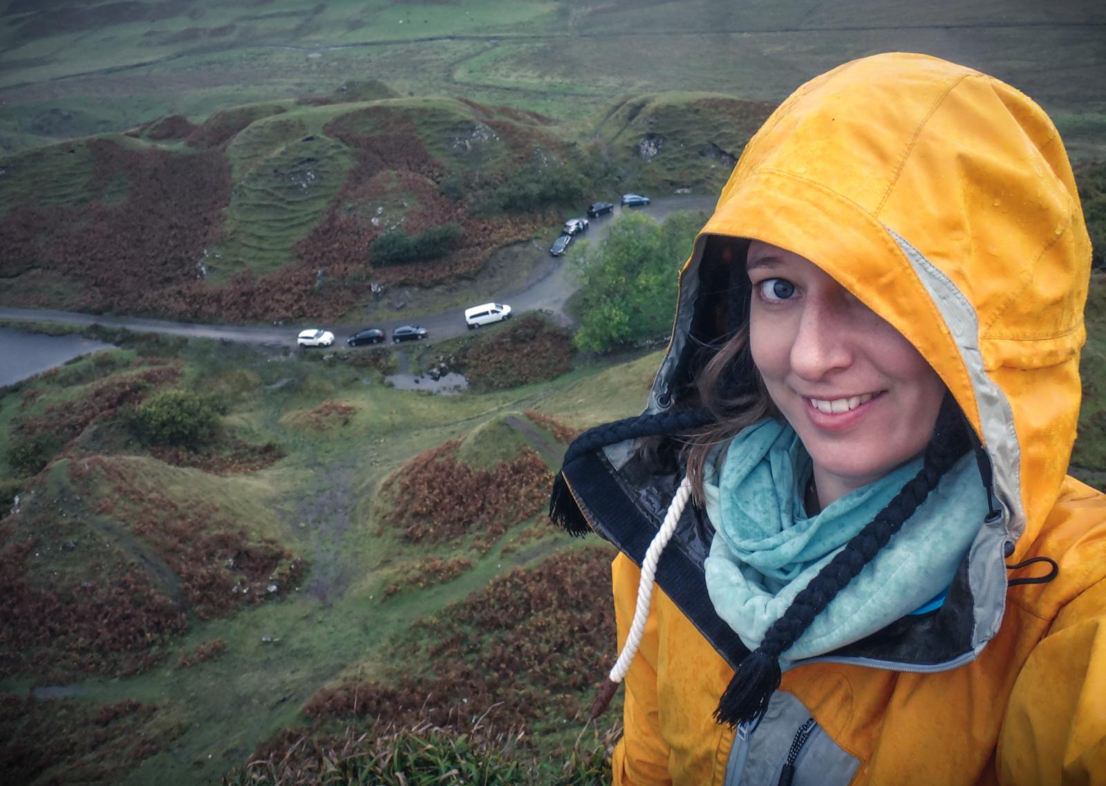 Dauerregen am Fairy Glen – trotzdem schöööön!