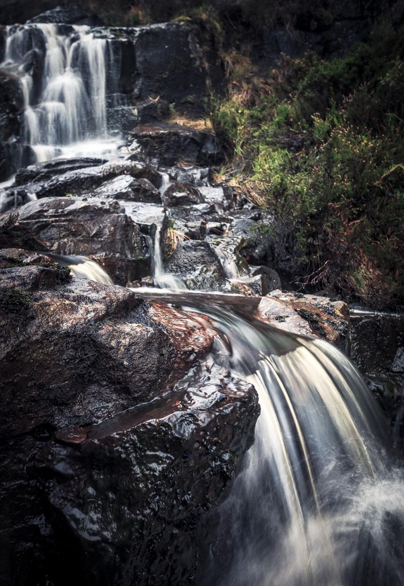 Kleines Fotoabenteuer am namenlosen (?) Wasserfall. Ein großer Spaß!