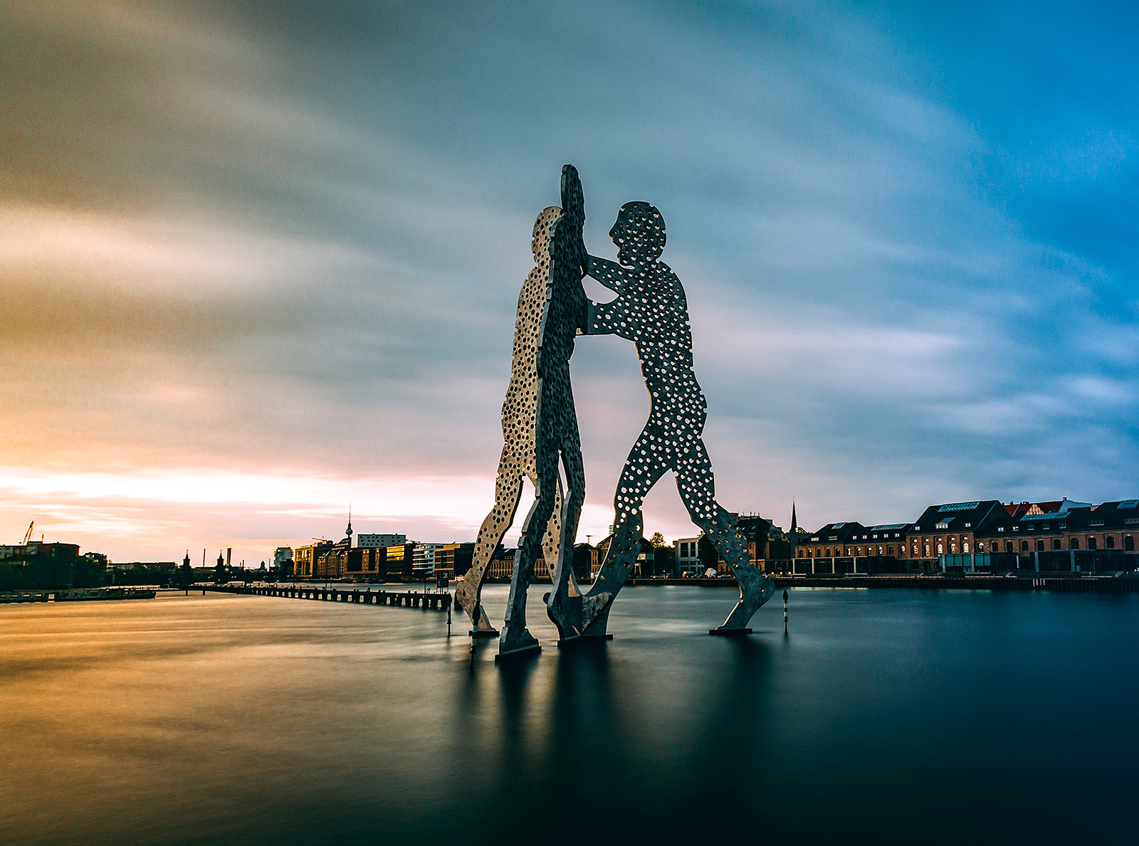 Molecule Man in der Spree, Berlin