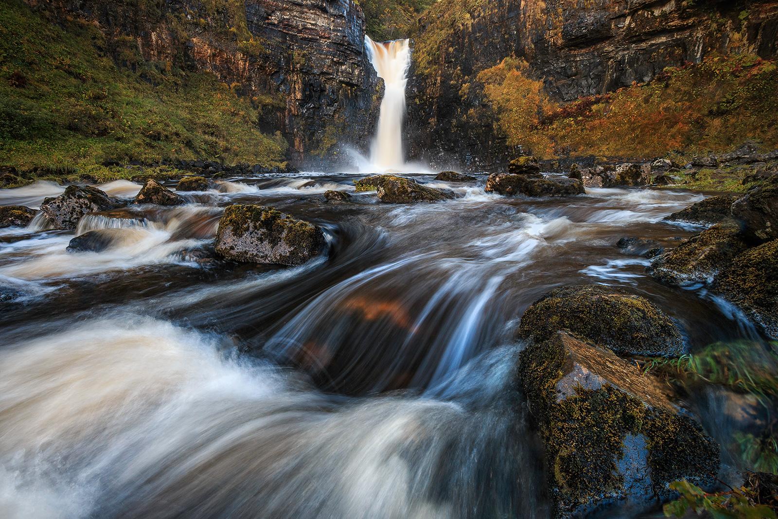 Lealt Falls, Isle of Skye, Schottland