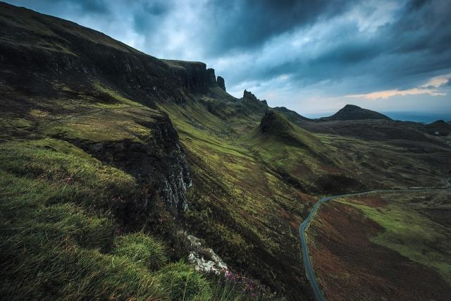 Quiraing, Isle of Slye, Schottland