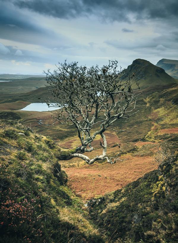 Spannende Landschaft am Quiraing auf der Isle of Skye während der Jaworskyj-Fotoreise.
