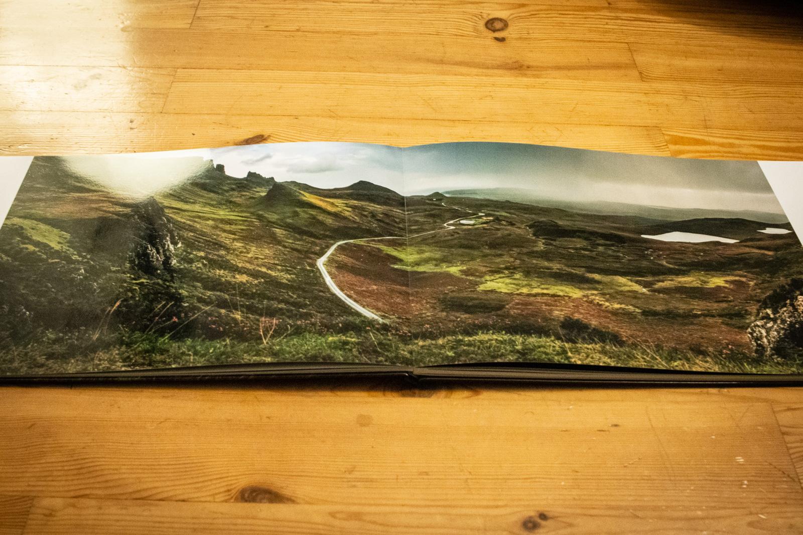 Layflat-Bindung: Perfekt für Panoramen