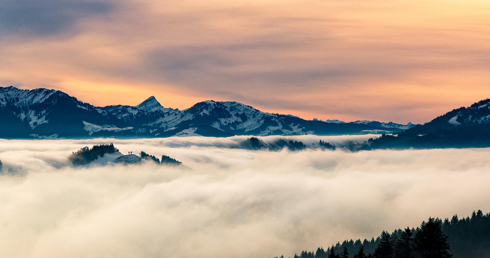 Dezember: Nebelschauspiel im Appenzell