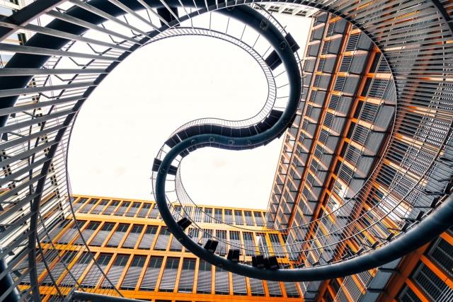 Umschreibung bzw. endlose Treppe von Ólafur Elíass