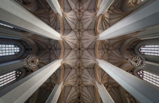 Kirchenschiff der Frauenkirche München