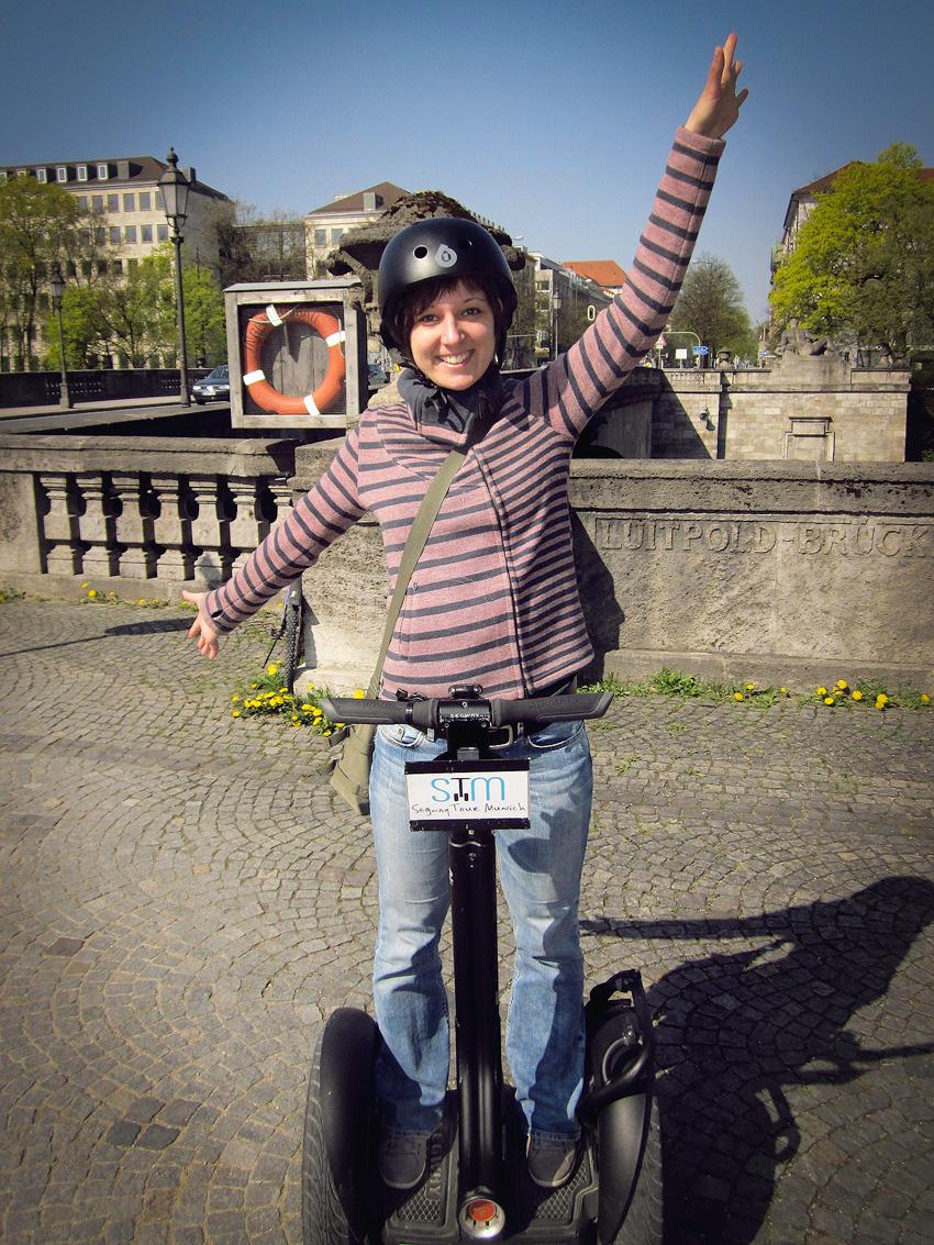 Kathrin's World, Kathrin Schlott, Segwaytour durch Münnchen