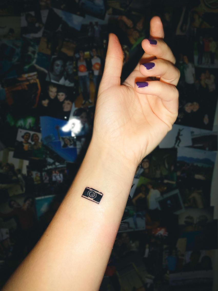 Kathrin's World, Kathrin Schlott, Tattoo, Tiny Tattoo, Fotografie