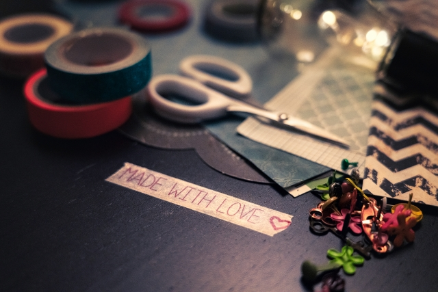 Scrapbooking, basteln, Made with love