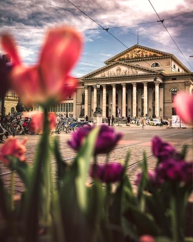 Bayerische Staatsoper, München, Oper, Bayern, Deutschland, Architektur