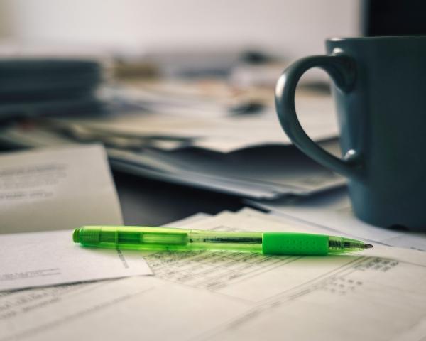 Steuererklärung, Stift