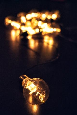 Lampen, Licht, Glühbirne, Lichterkette