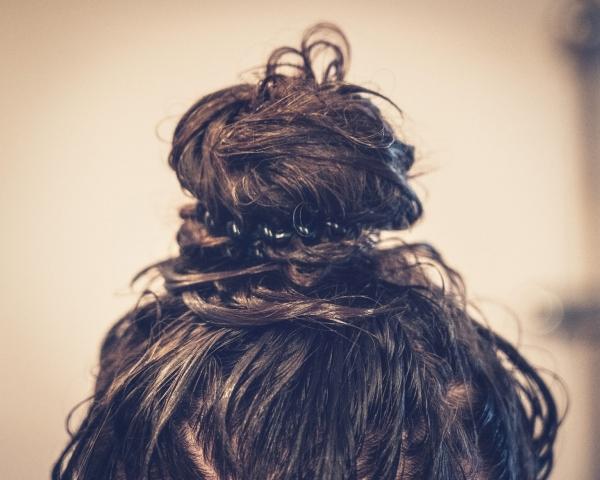 Haare, Haarkur, haarknoten, Dutt, Frisur