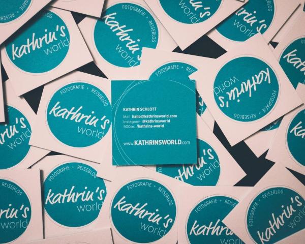 Kathrin Schlott, Visitenkarte, kathrinsworld, Kathrin's World
