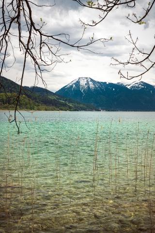 Tegernsee, Berge, Bayern, Deutschland, See, Alpen