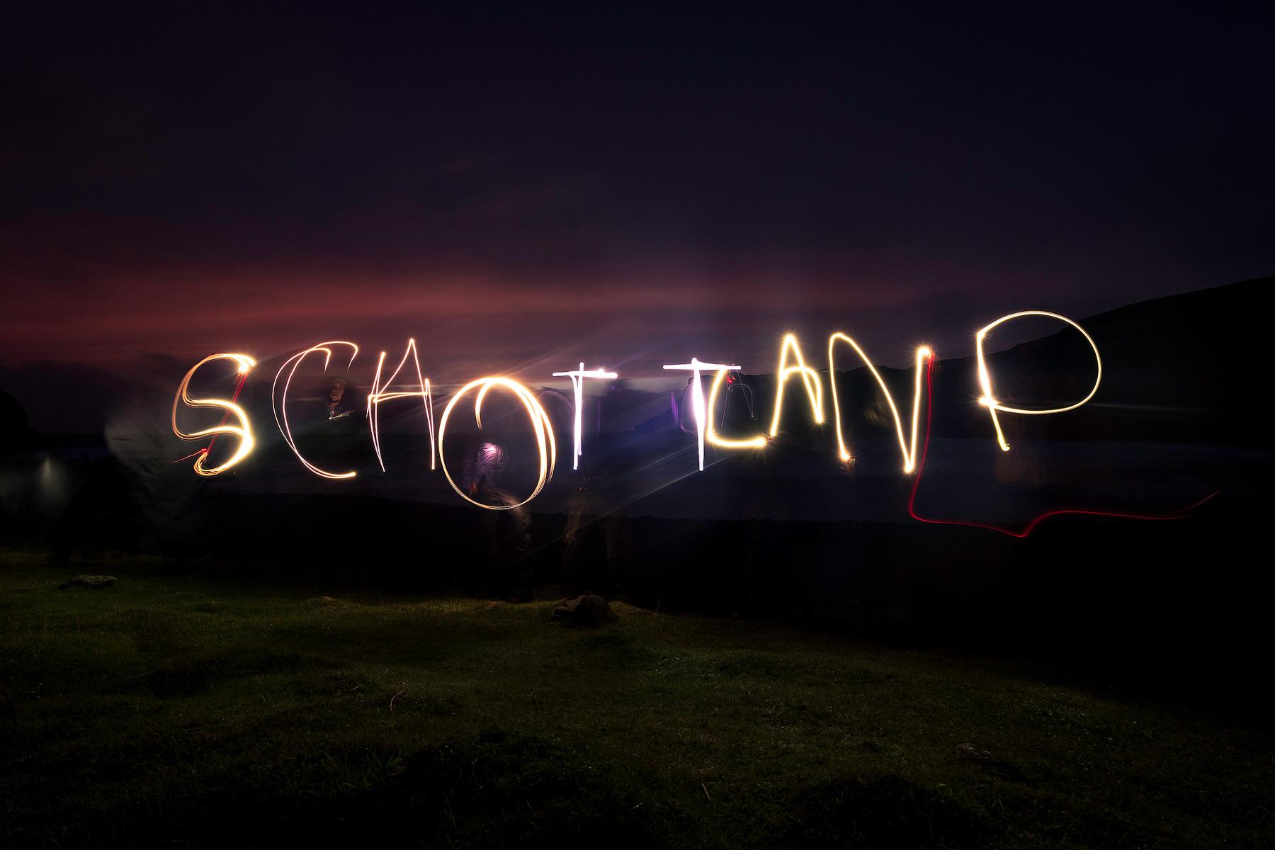 Jaworskyj Fotoreise, Lukas Voegelin, Schottland, Isle of Skye, Lightpainting