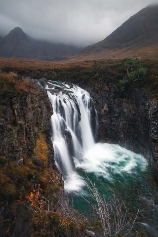 Jaworskyj Fotoreise, Lukas Voegelin, Schottland, Isle of Skye, Fluss, Fairy Pools, Wasserfall