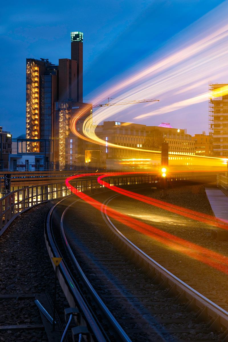 Light Trails, Berlin, S-Bahn
