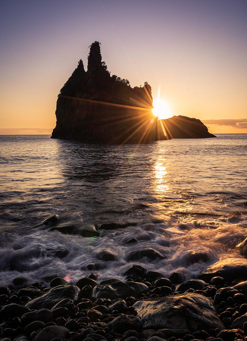 Sonnenaufgang, Flores, Azoren