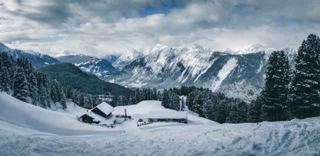 Feldringalm, Tirol, Österreich, Winter, Schnee