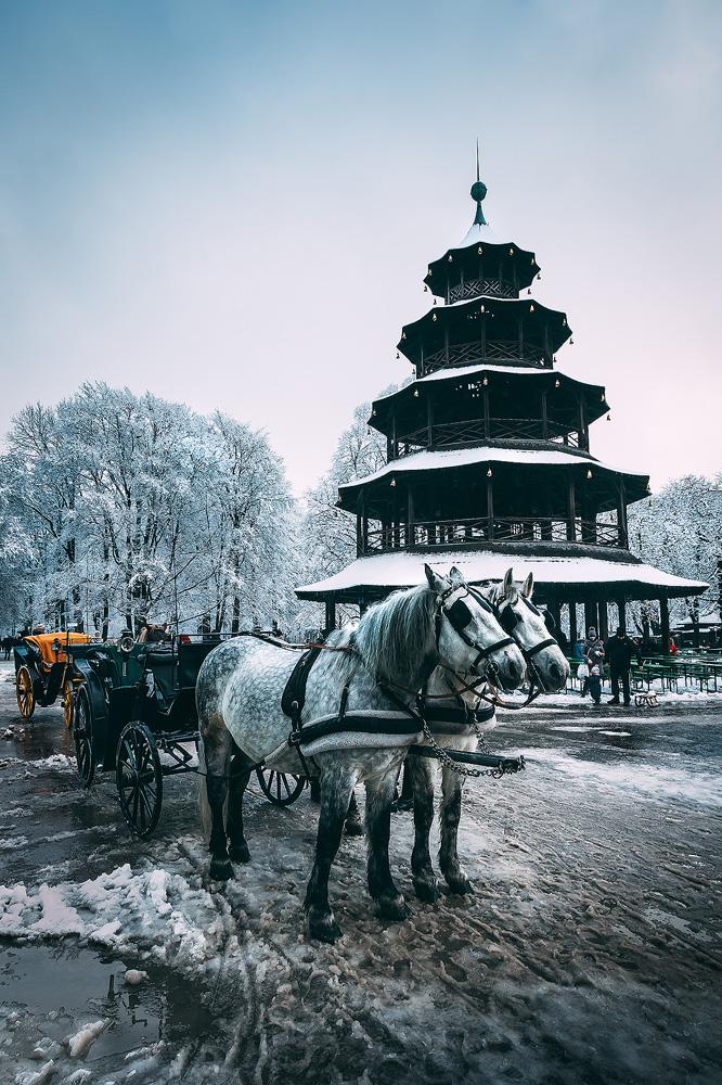 Impressionen Englischer Garten, Winter, München, kathrinsworld, Kathrin's World