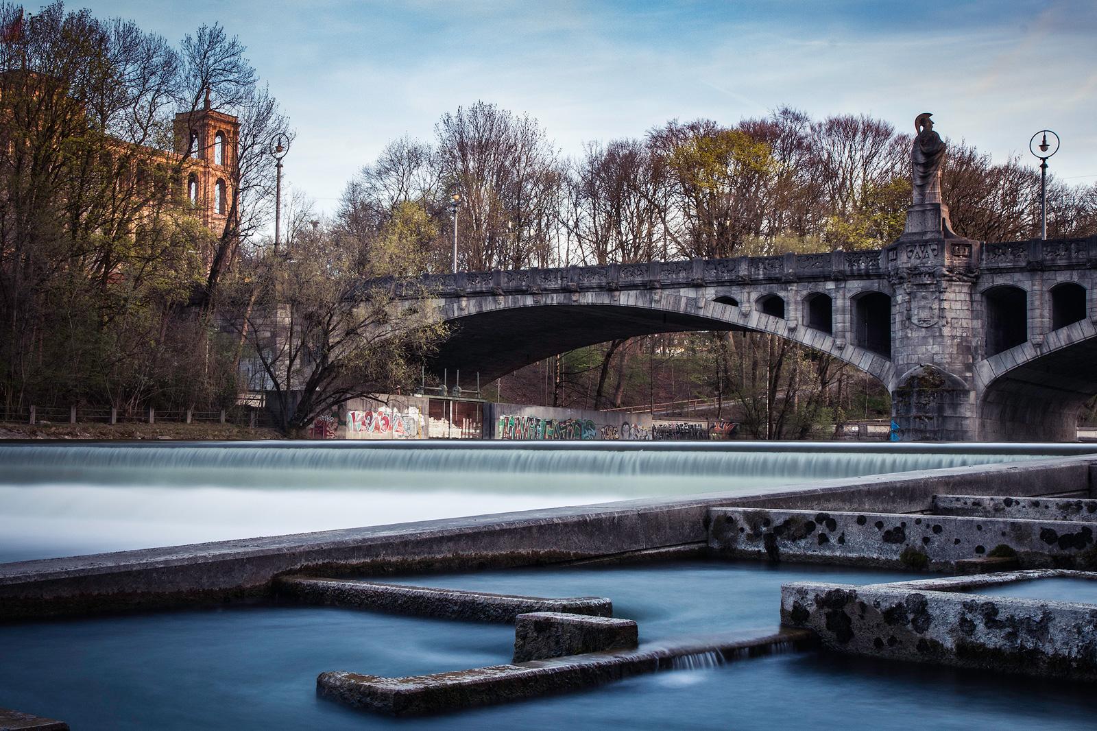 Fotospot Maximiliansbrücke München, Schwindinsel, kathrinsworld, Kathrin's World