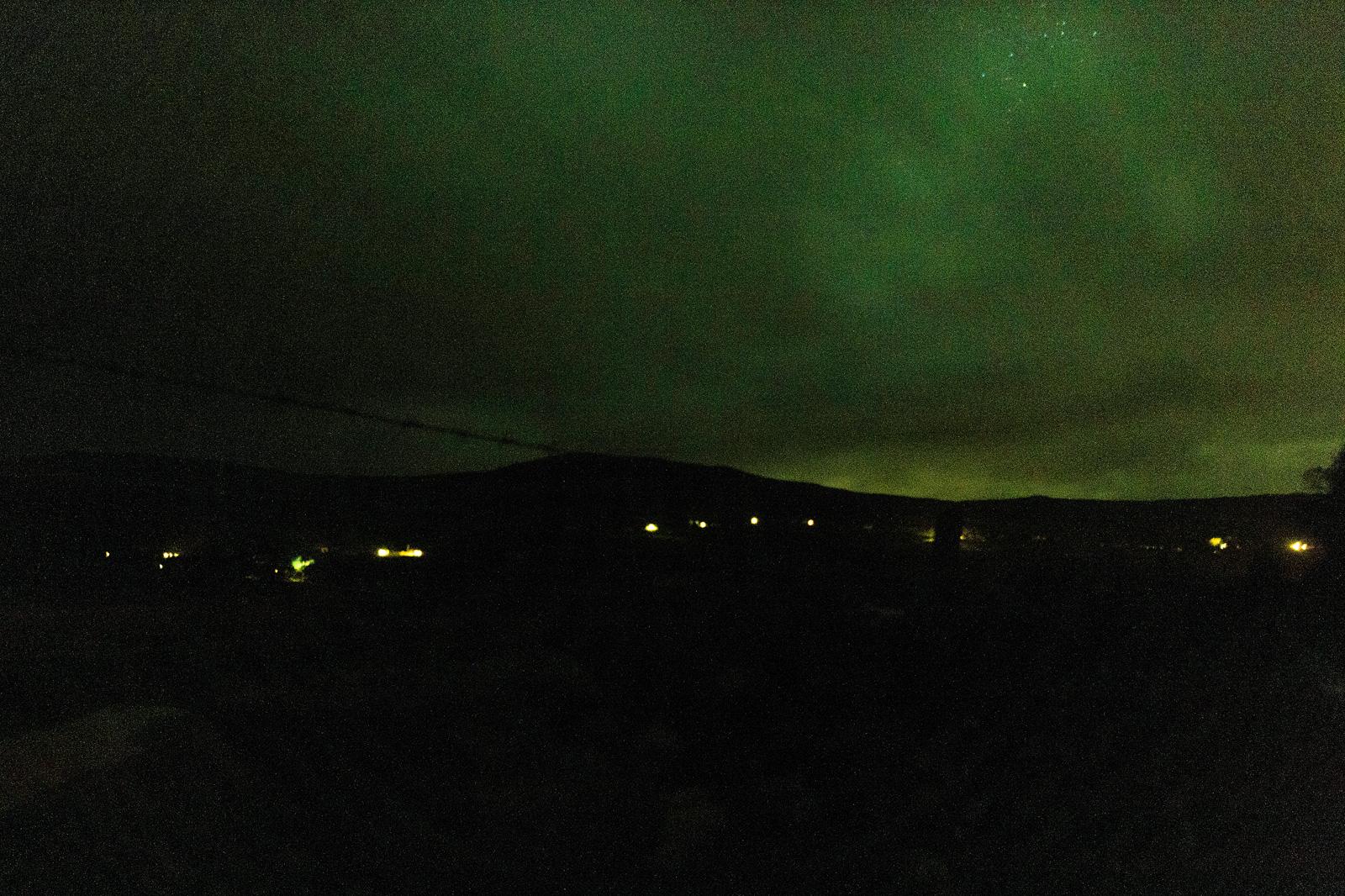 Nordlichter über der Isle of Skye
