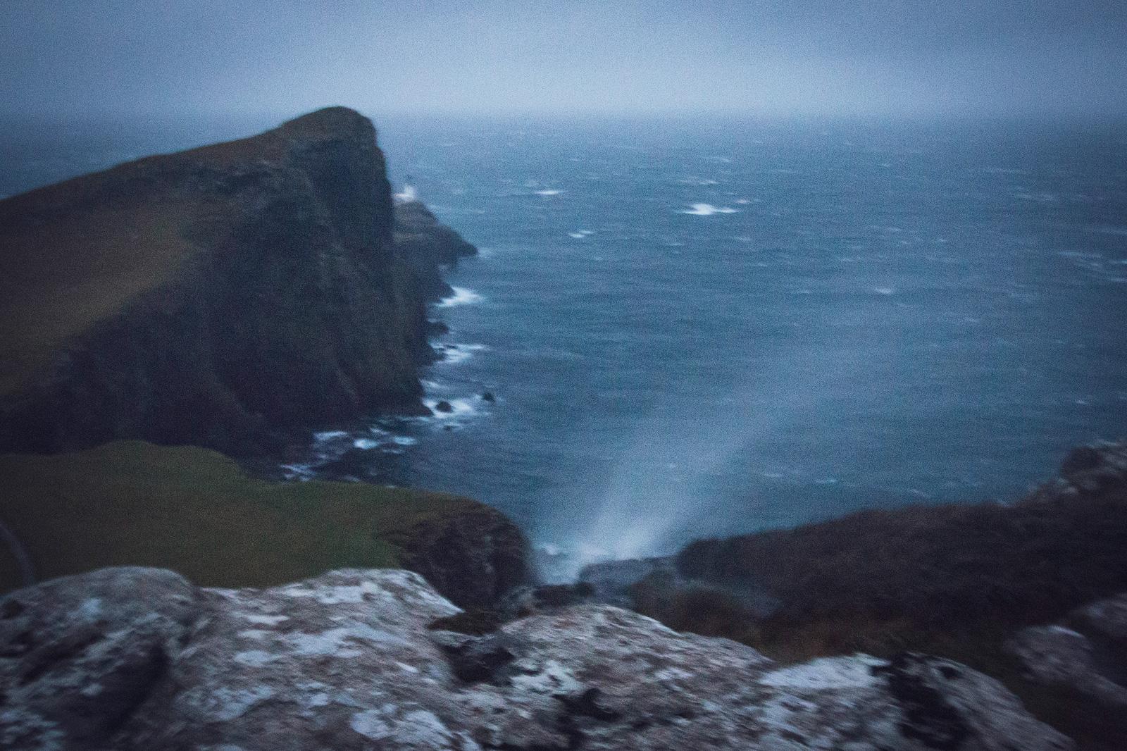 Wasserfall am Neist POint auf der Isle of Skye