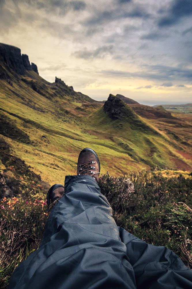 schöne Landschaft in Schottland mit kathrinsworld