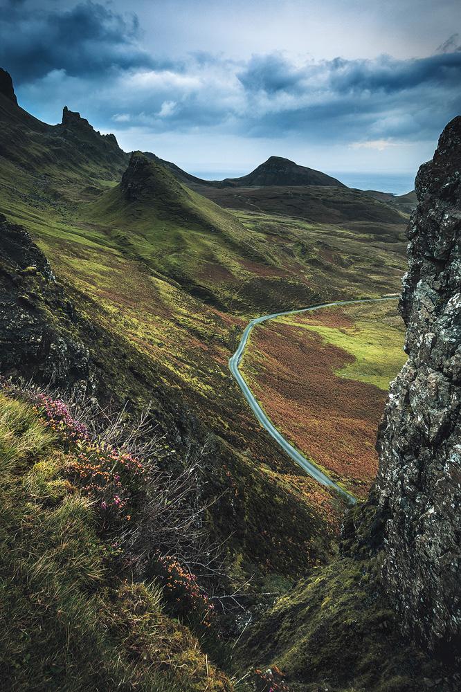 Quiraing, Isle of Skye, Schottland