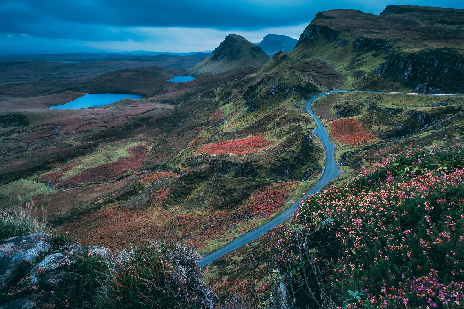 Jaworskyj-Fotoreise am Quirraing in Schottland