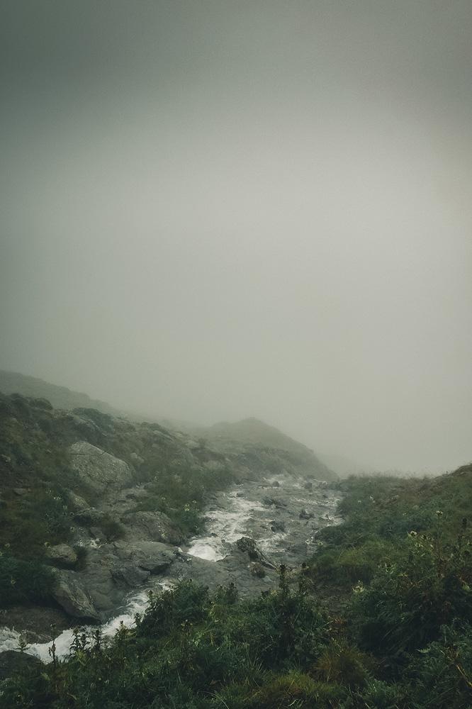 Nebel im Gleirschtal