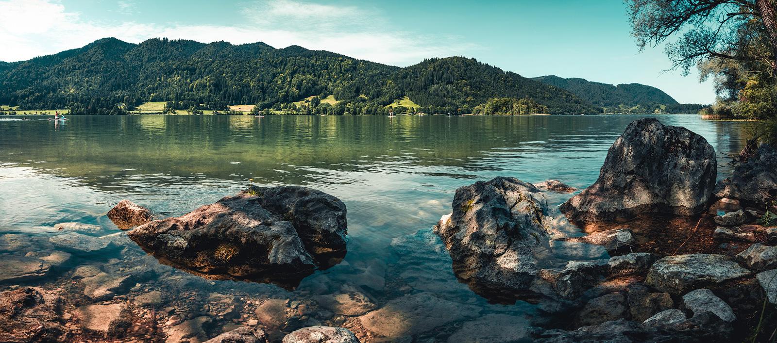 Wanderung Schliersee, Bayern,