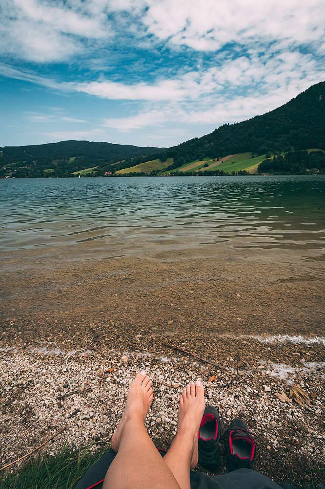 Badestopp am Schliersee