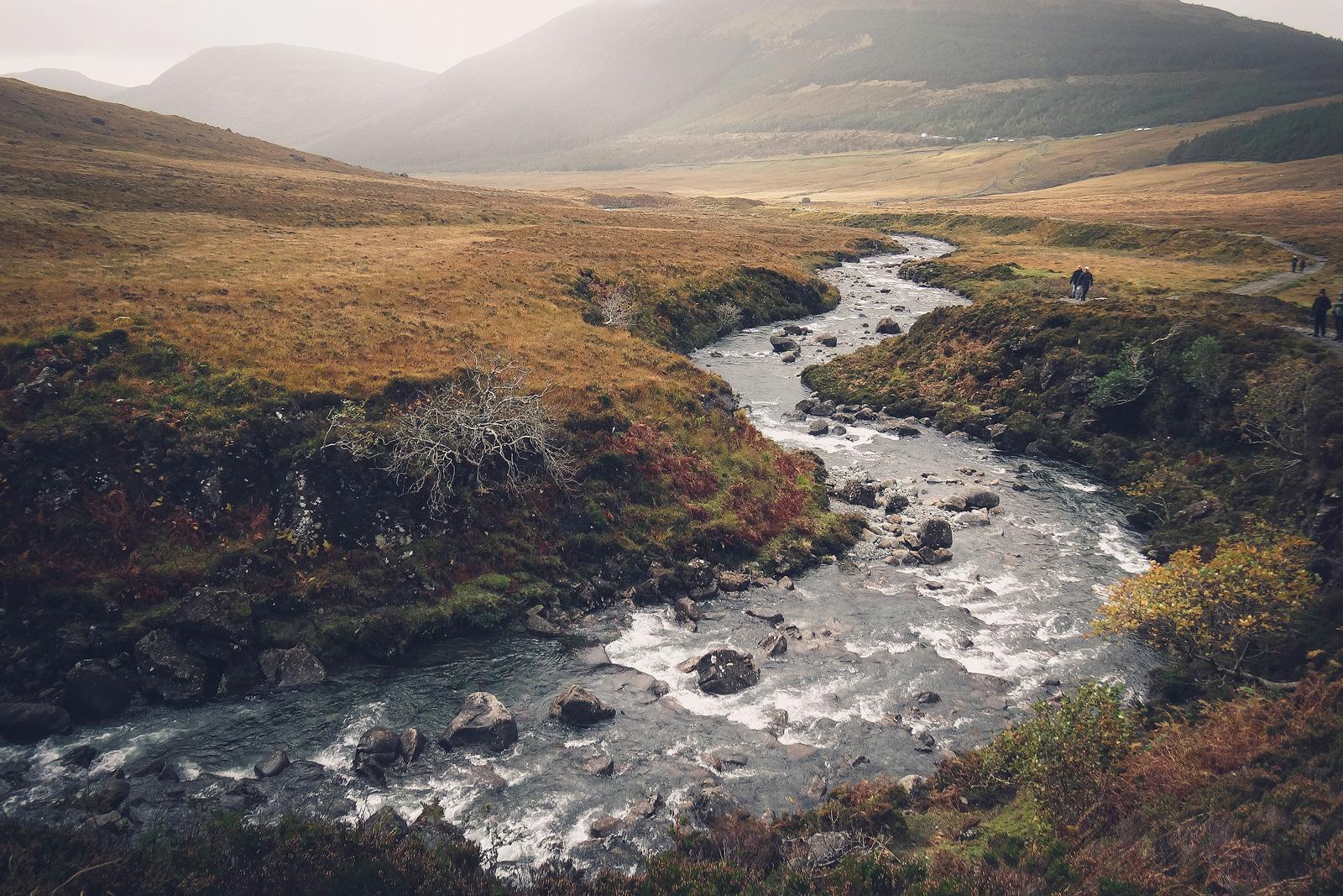 Fairy Pools in Schottland