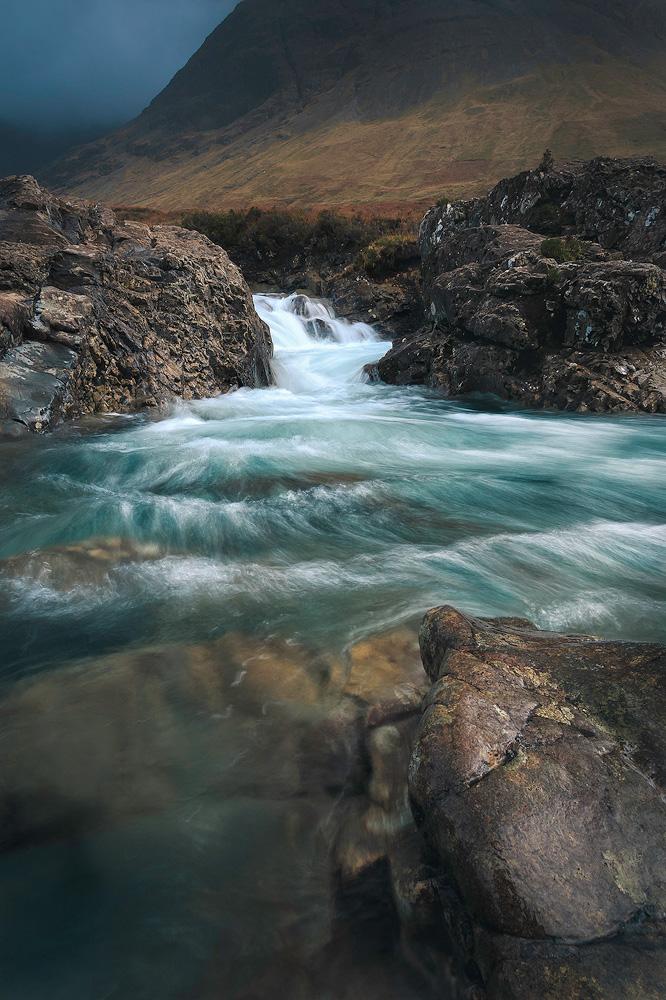 Fairy Pools während der abenteuerfotoreise auf die Isle of Skye