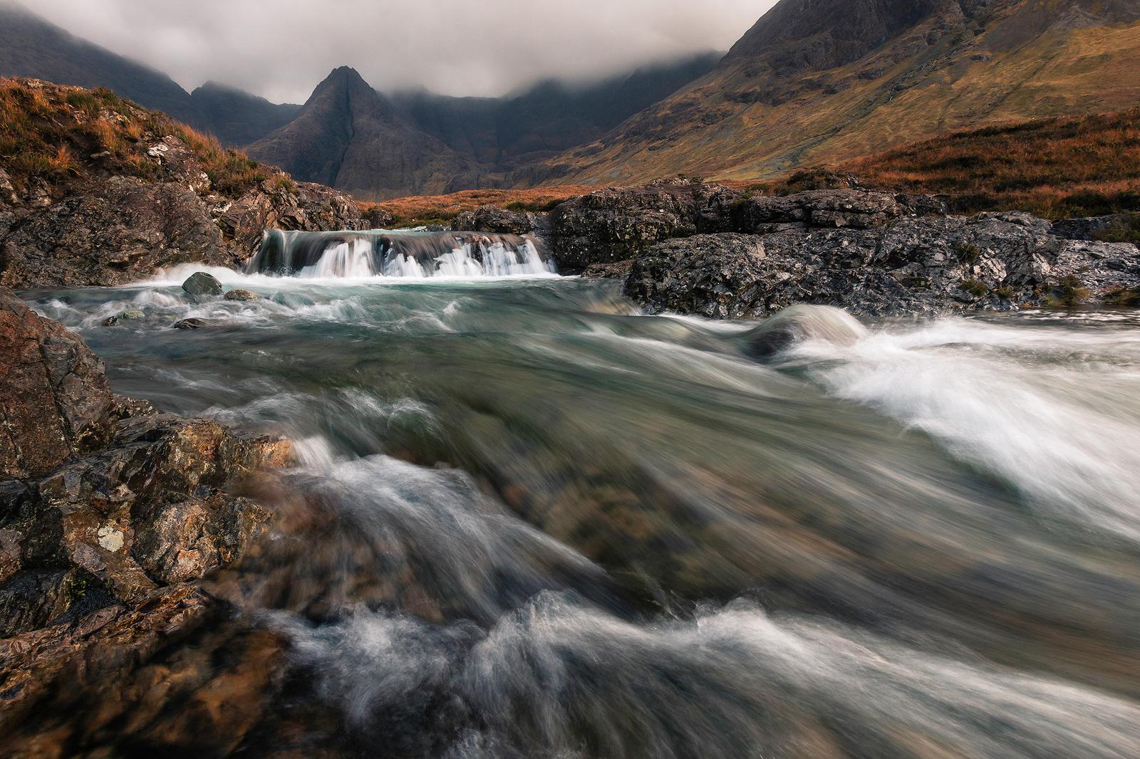 Moody Isle of Skye während der Fotoreise